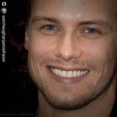 GAH!! So damn handsome...😲 ~~~~~~~~~~~~~~~~~~~~~~~ #Repost @samheughanjamiefraser with @repostapp. ・・・ A beautiful Day begins with a beautiful Smile 😍😍😉 #SamHeughan aka #JamieFraser #Outlander ❤️ •••••••••••••••••••••••••••••••••• #SamHeughan #Scot #SexySam #Scotland #Scottish #JAMMF #JamieFraser #Outlander #OutlanderStarz #HotScot #Actor #Sam #Sexy #Sheugs #StudMuffin #Random #KingOfMen #Perfection #nofilter #Ginger #Redhead #Love #GingerHotness #GingerGod #BlueEyes #Repost