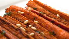 Moroccan Spiced Carrots  by Claire from Sprinkles and Sprouts
