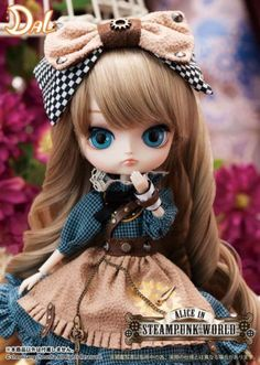 Dal-Alice-in-Steampunk-World-Pullip-Fashion-Doll-in-US