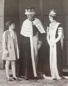 The Duke and Duchess of Rutland, on the occasion of the Coronation of King George VI in 1937.