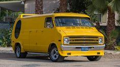 Customised Vans, Custom Vans, Dodge Van, Old School Vans, Custom Hot Wheels, Panel Truck, Cool Vans, Vintage Vans, Dodge Trucks
