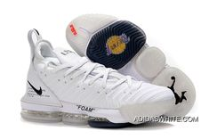 1012f059547c Nike LeBron 16 All White Women Men Battle Shoes Best