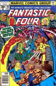Fantastic Four Issue 186