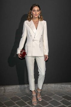 Olivia Palermo attends the Vogue Foundation Dinner Photocall as part of Paris Fashion Week Haute Couture Fall/Winter 20182019 at Musee Galliera on...