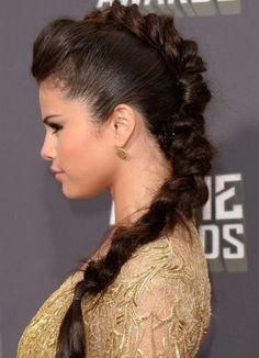 belle coiffure cheveu long facilecoupe de cheveux selena gomez