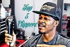My Top 5 Professional Barber Clippers HD