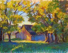Autumn Gold by Donna Shortt Pastel ~ 11 x 14