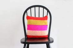 Knit Pillow by sah-rah.com, via Flickr
