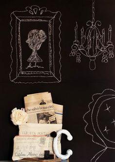 love a little chalkboard inspiration