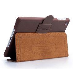 iCarer Genuine Leather Stand Case for iPad Mini - Lineglory.com