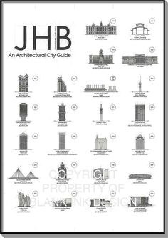 Blank Ink Design | Architectural City Guide | Art & Architecture | JHB, An Architectural City Guide