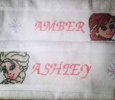 cross stitch/Ponto Cruz Frozen...my art/minhas artes.