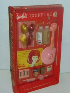 Color 'n Curl Gift Set 1964 ~ French