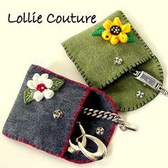 #Jewelry Pouch  #Felt Pouch  #Jewelry #felt #pouch#bridesmaids#Mom gifts#gift pouch#lollie couture, $11.00