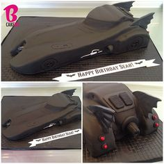 Batmobile Cake!