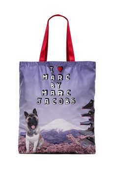 Marc by Marc Jacobs Jet Set Pets Akami Tokyo Tote in Pastel Purple Multi from REVOLVEclothing