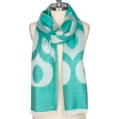 Pembe Turquoise Silk Scarf @LaylaGrayce