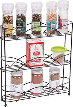 Countertop Metal Spice Rack by Trademark Innovations