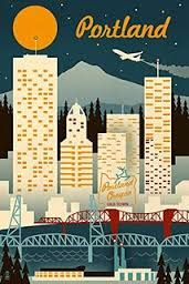Image result for oregon state travel posters