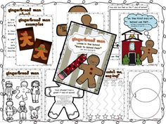 Gingerbread Man Packet