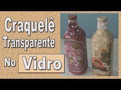 Garrafa com craquelê Transparente - YouTube