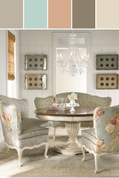 "Brannon Dining Table & ""Colton"" Banquette ...Designed By Neiman Marcus via Stylyze"