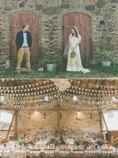 Traumhafte Bohemian Hochzeit in Berlin!   Konzeption, Dekoration und Papeterie von Anmut und Sinn.  Fotografie: http://lenephotography.de Location: Gartenglück Wegendorf Kleid: BHLDN