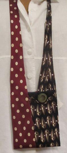 iseeamoose: Necktie Shoulder Bags and Headbands