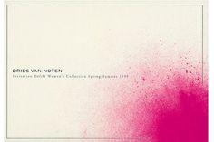 Paul Boudens for Dries Van Noten