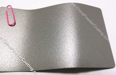 We supply powder coating with silver sand finish .