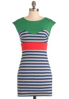 Coast to Rollercoaster Dress - $44.99