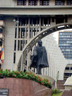 Centro Simon Bolivar, Caracas, Venezuela - Simon Bolivar was the liberator for many countries in South America, including Venezuela