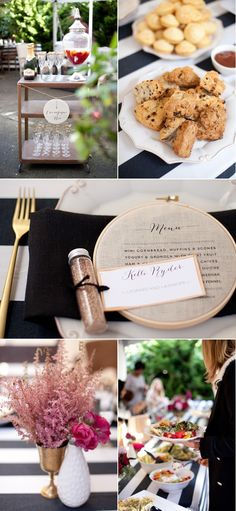 SMP at Home: Sarah Seven Preview Brunch | Style Me Pretty