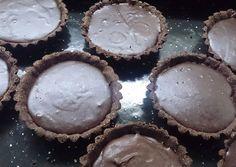 Tarteletas de chocolate para diabéticos Diabetic Recipes, My Recipes, Gluten Free Recipes, Healthy Recipes, Healthy Food, Carbs For Diabetics, Mini Tart, Healthy Carbs, Pan Dulce