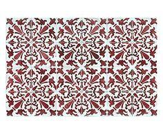 pi? su dalani it passatoia cucina in vinile mosaico vintage turchese ...