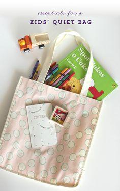 Kids' Quiet Bag Essentials   by Polkadot Prints