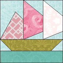 Block of Day for March 23, 2015 - Beautiful Sails