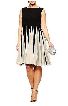 5 plus size pleated dresses for stylish women