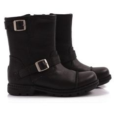 UGG black motorcycle boots