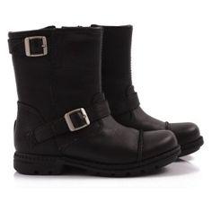 UGG black motorcycle boots