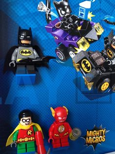 The final solution to your #Lego Mighty Micros Super Heroes #minifigures and set. Show them in an organized way and keep them safe and dust free. #DCComics and #Marvel #SuperHeroes #legominifigures #legoframe