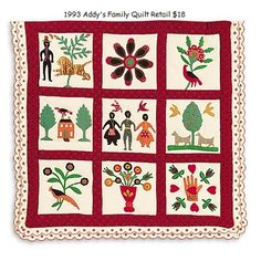 American Girl Doll Addy's Family Quilt
