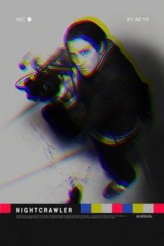 Nightcrawler alternative movie poster