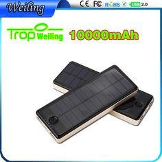 Tropweiling Solar Power bank 10000mah solar charger PowerBank external battery for all phones portable charger bateria externa ============================================================================================ Shenzhen Weiling Electronics Co., Ltd. Buyers please note : Don't bargain: if you want to spend $5 yuan to buy $100 goods, please find cheater ! donot say expensive: people have different, products same . Please don't ...