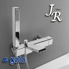 38852 Monomando baño ducha Bloc de Gala JrSink Fontanería