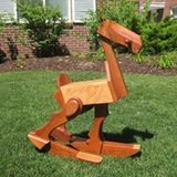 "Mesquite ""Walking""/Rocking Horse by Lux Toys ($1,100)"
