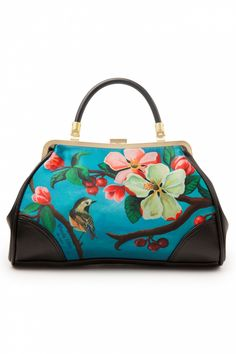 Woody Ellen - 50s retro Handtas Blossom Women's Handbags Wallets - http://amzn.to/2huZdIM