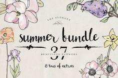 Summer Bundle - 30% Off by DesignsByMissM on Creative Market
