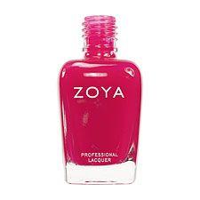 Zoya Nail Polish ZP228  Max  Red Nail Polish Cream Nail Polish