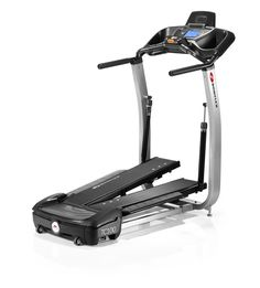 Walk at home with a Bowflex TreadClimber TC100, which combines all the benefits of an elliptical, treadmill & stepper. Just choose your speed and go!